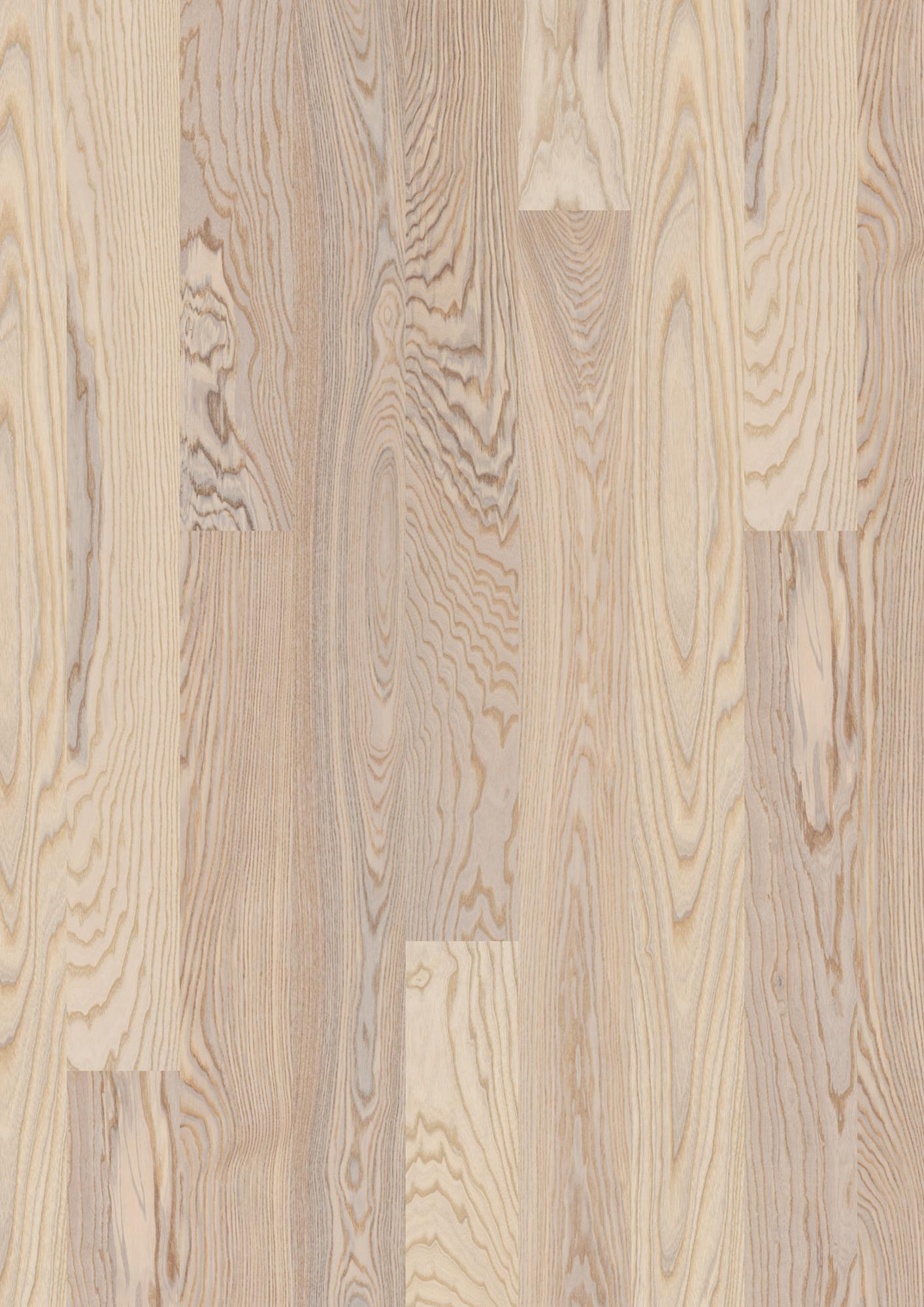 Ash Marcato white, Live Matt lacquer white, Not brushed, Square edged, Plank 138, 14x138x2200mm