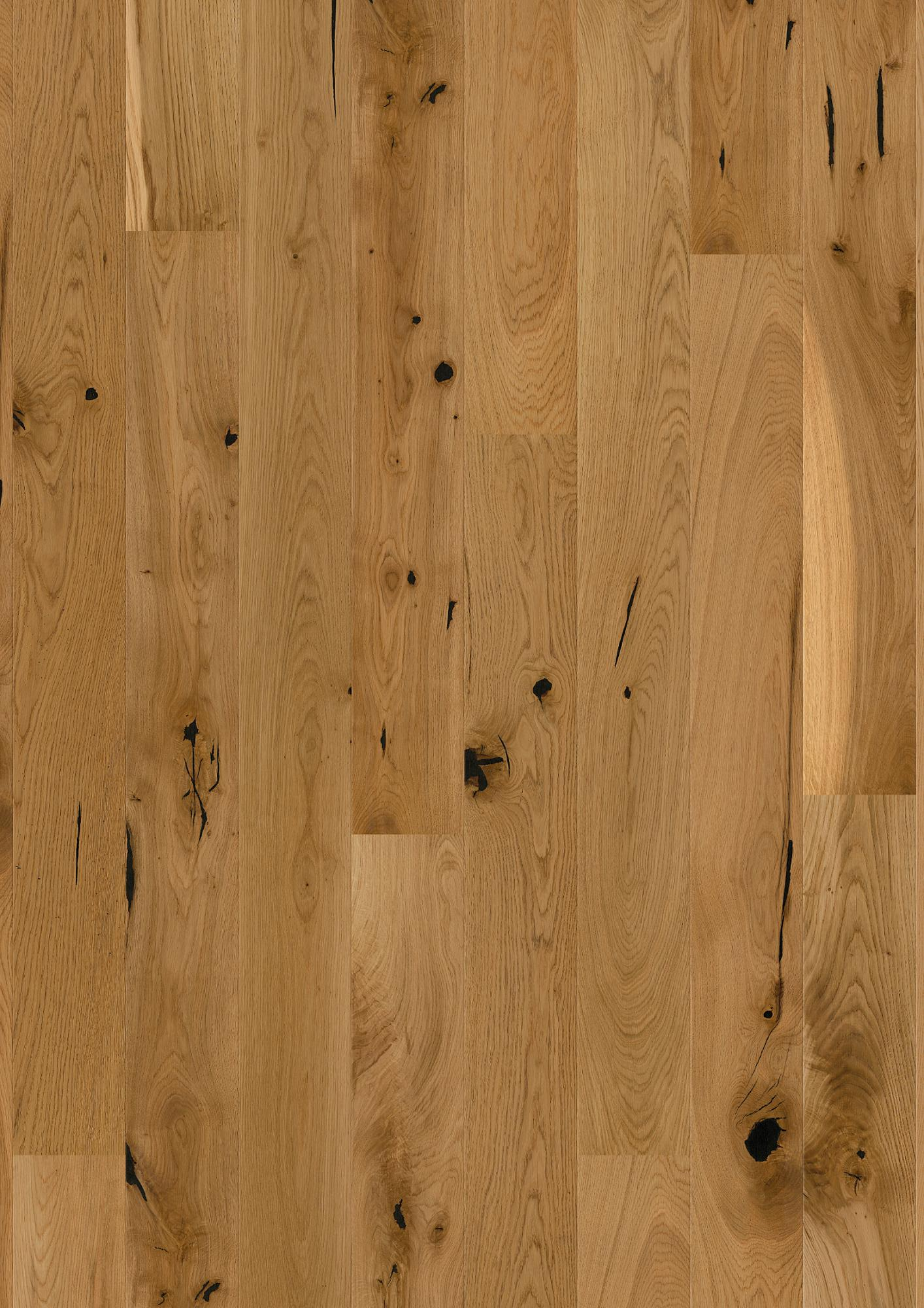 Oak Espressivo, Live Natural oil, Brushed, Beveled 2V, Plank 138, 14x138x2200mm