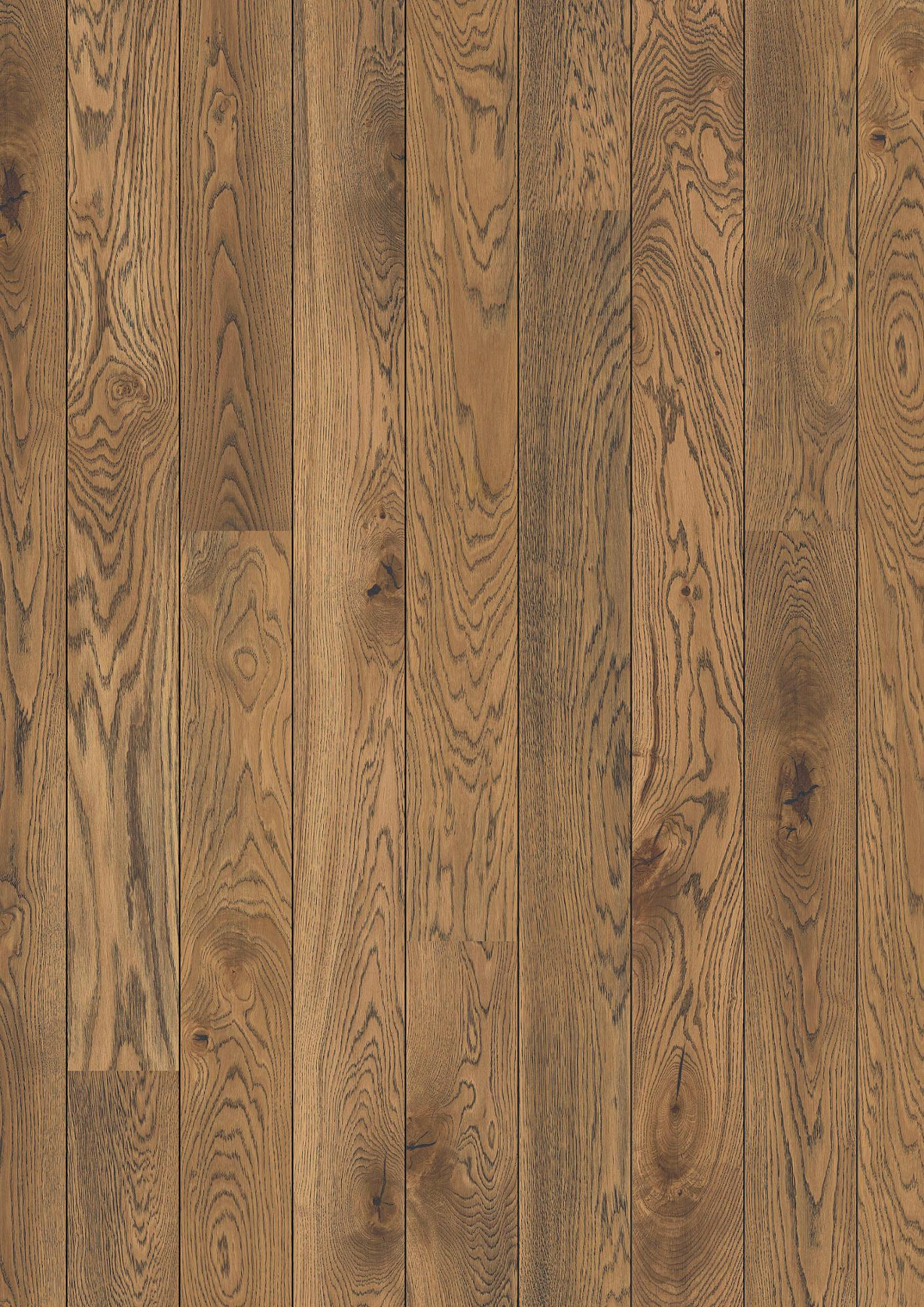 Oak Alamo, Live Natural oil, beveled 2V, Plank 138, 14x138x2200mm