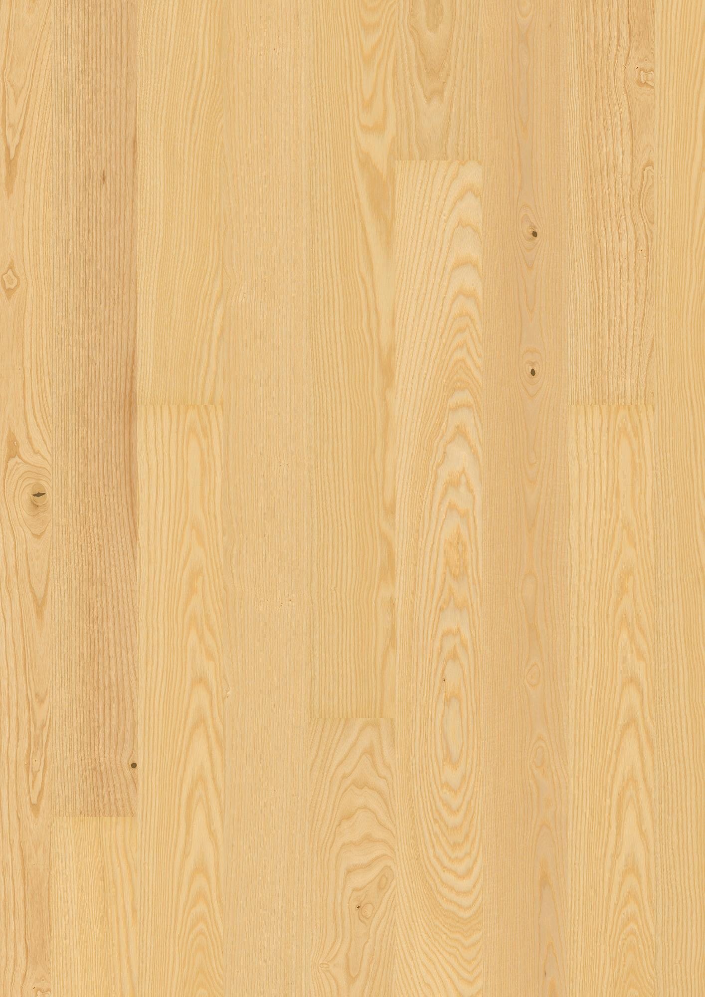 Ash Andante, Live Matt lacquer, Unbrushed, Square edged, Plank 138, 14x138x2200mm