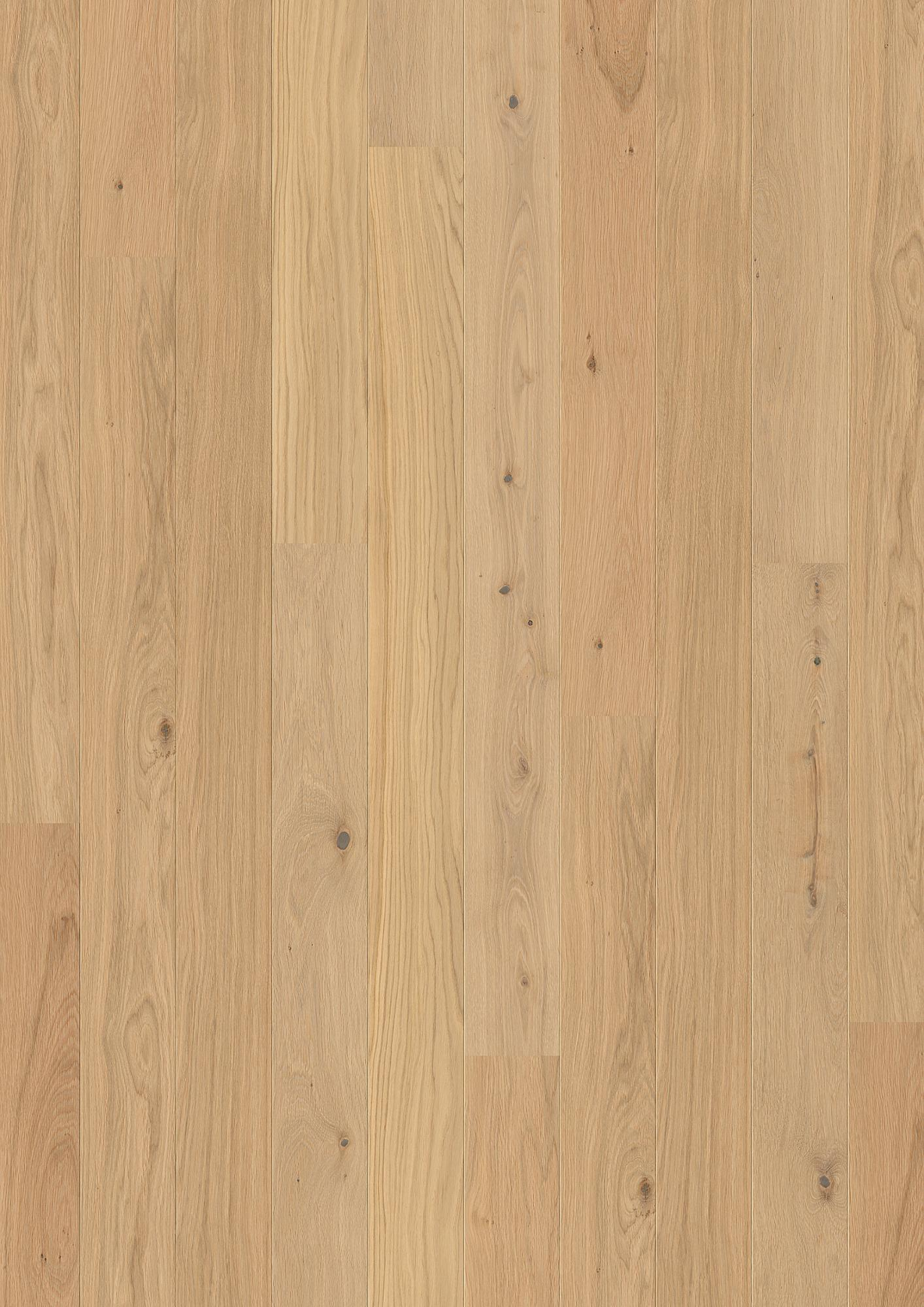 Oak Animoso, Live Pure lacquer, Brushed, Beveled 2V, Plank 181, 14x181x1800mm