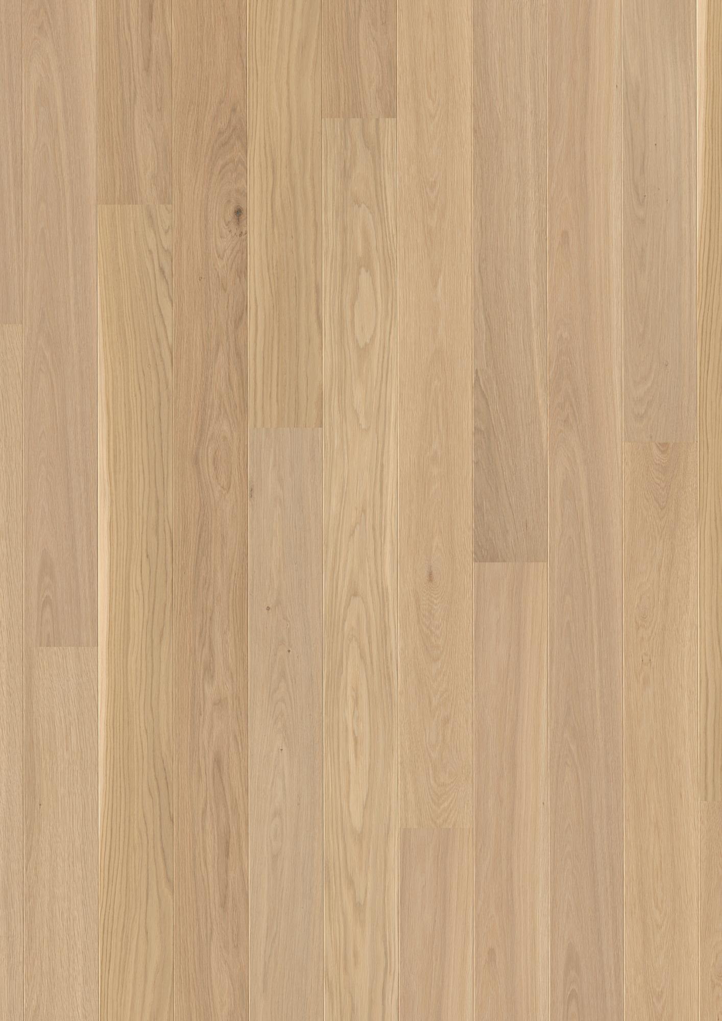 Oak Andante, Live Pure lacquer, Brushed, Beveled 2V, Plank 138, 14x138x2200mm