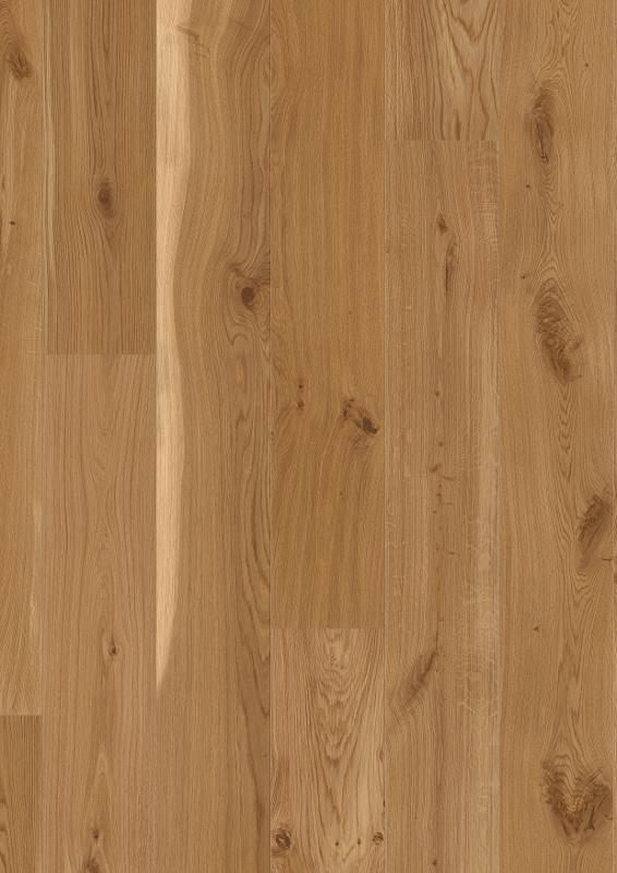 Oak Vivo, Live Natural oil, beveled 2V, brushed, Castle Plank, 14x209x2200mm