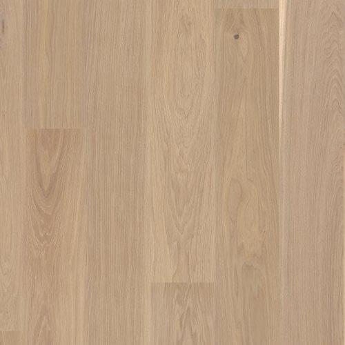 Oak Andante White, Live Matt lacquer white, beveled 2V, Castle 209, 14x209x2200mm