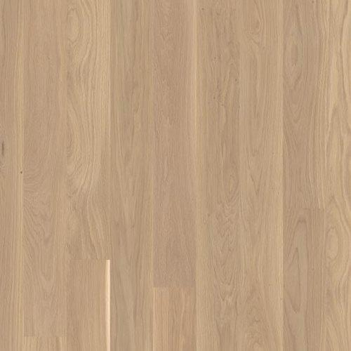 Oak Andante White, Live Matt lacquer white, beveled 2V, Planks 138, 14x138x2200mm