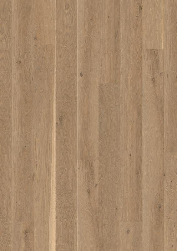 Oak Sand, Live Natural oil, beveled 2V, brushed, Plank 138 mm, 14x138x2200mm