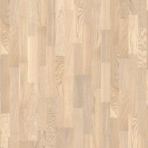 Oak Concerto White, Live Matt lacquer white, 14mm 3-strip, 14x215x2200mm