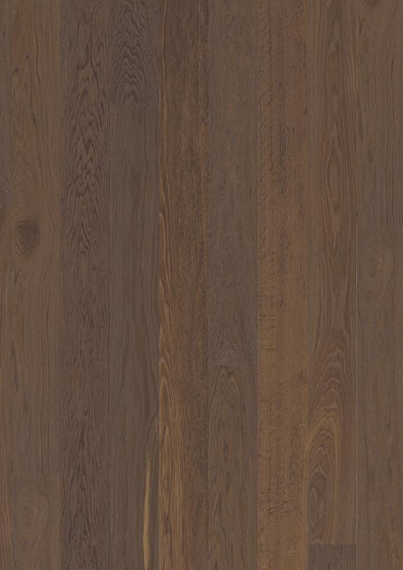 Oak Smoked, Live Pure lacquer, beveled 2V, brushed, Plank 138 mm, 14x138x2200mm