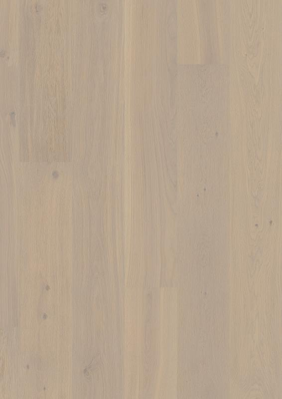 Oak Warm Cotton, Live Pure lacquer, beveled 2V, brushed, Castle Plank, 14x209x2200mm