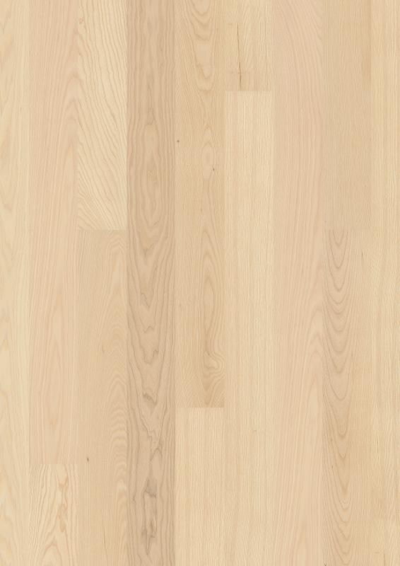 Ash Live Pure, Live Pure lacquer, beveled 2V, brushed, Plank 138 mm, 14x138x2200mm