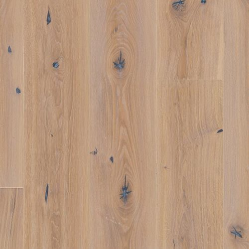 Oak Vintage White, Live Natural oil, beveled 4V, deep brushed, Chalet / Chaletino, 20x0x0mm