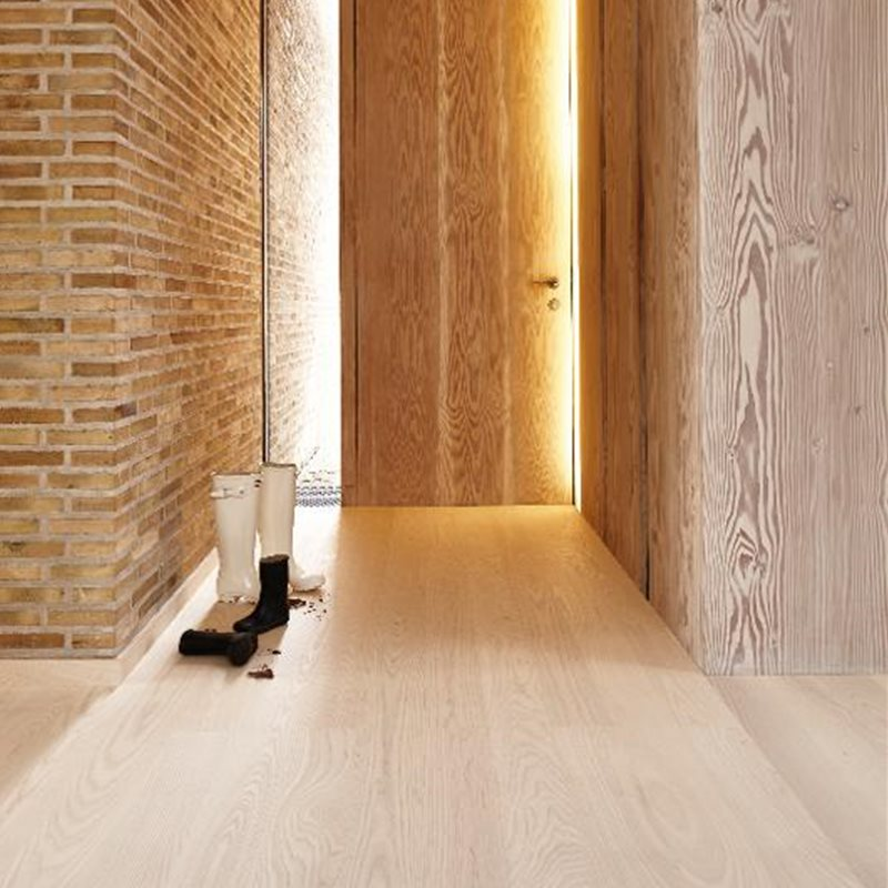 Ash Andante White, Live Natural oil white, Plank 138, 14x138x2200mm