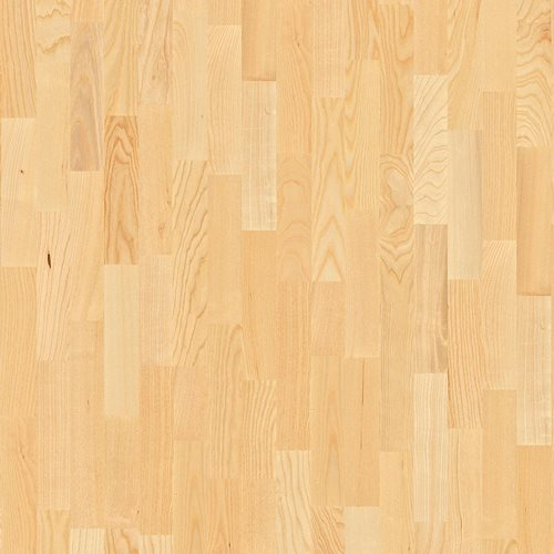 Ash Andante, Live Matt lacquer, Unbrushed, Square edged, Longstrip 3-Strip, 14x215x2200mm