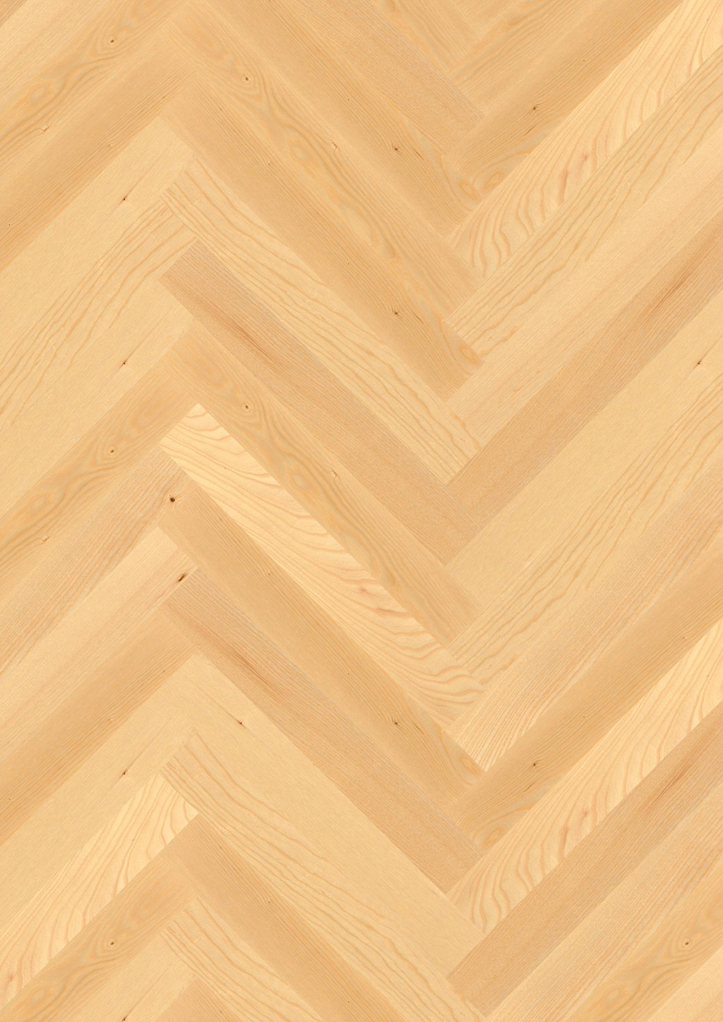 Ash Nature, Live Matt lacquer, Not brushed, Square edged, Short strip Prestige, 10x70x470mm