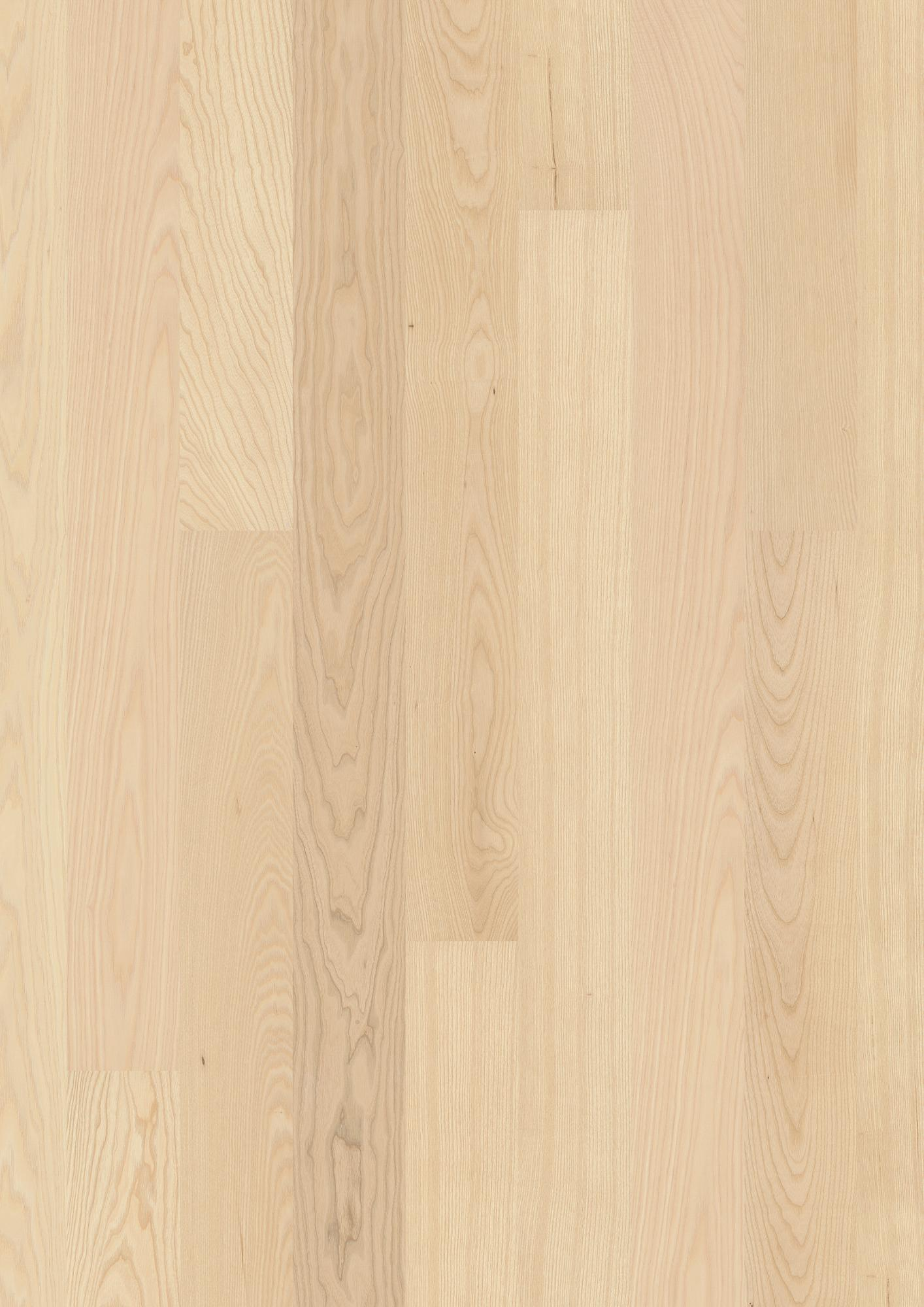 Ash Andante, Live Pure lacquer, Brushed, Beveled 2V, Plank 138, 14x138x2200mm