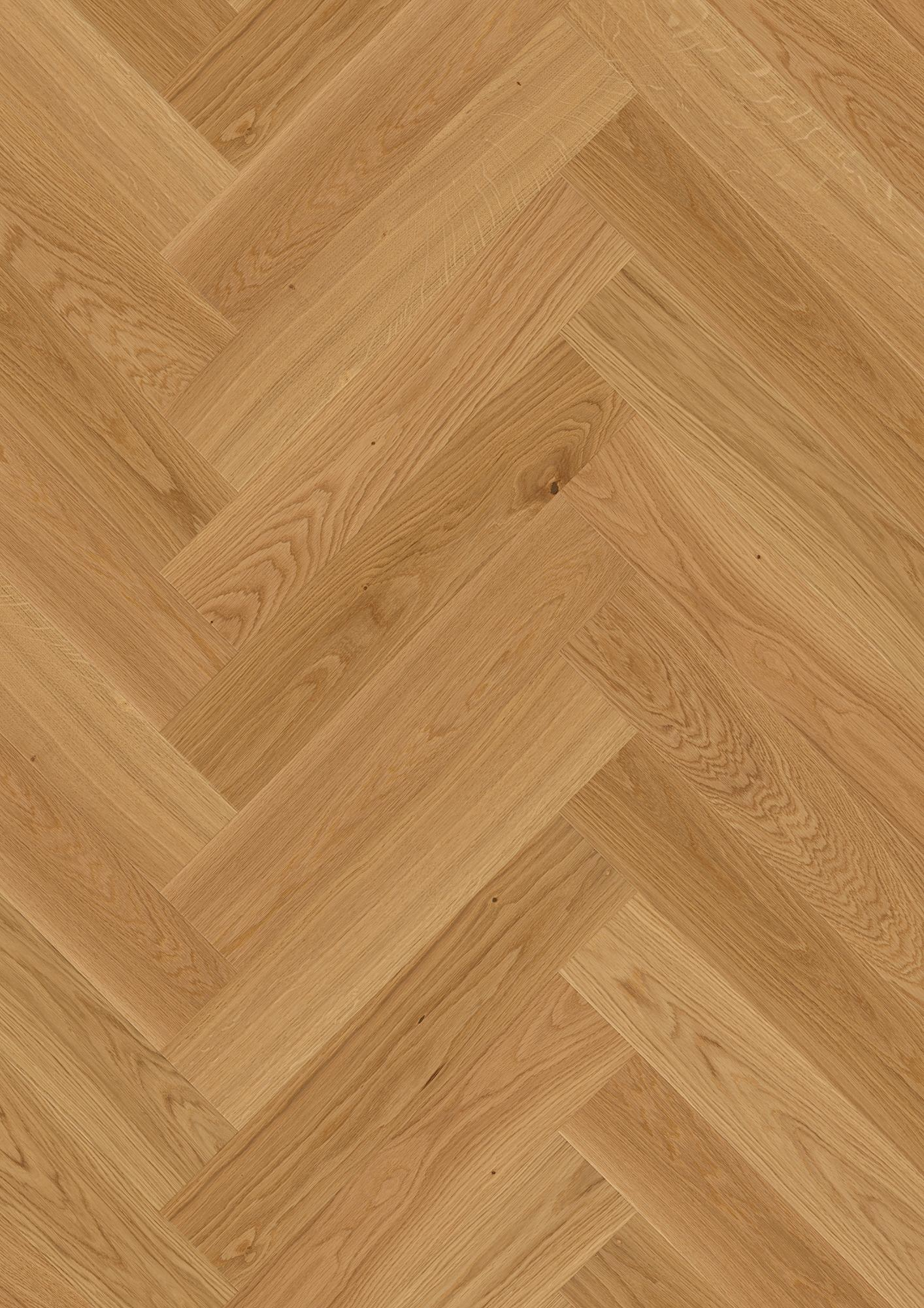 Oak Adagio, Live Natural oil, Brushed, Beveled 4V, Plank Herringbone Click, 35/64x5 7/16x27 11/64inch